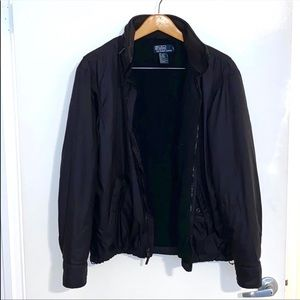 Polo Ralph Lauren Black Nylon Jacket